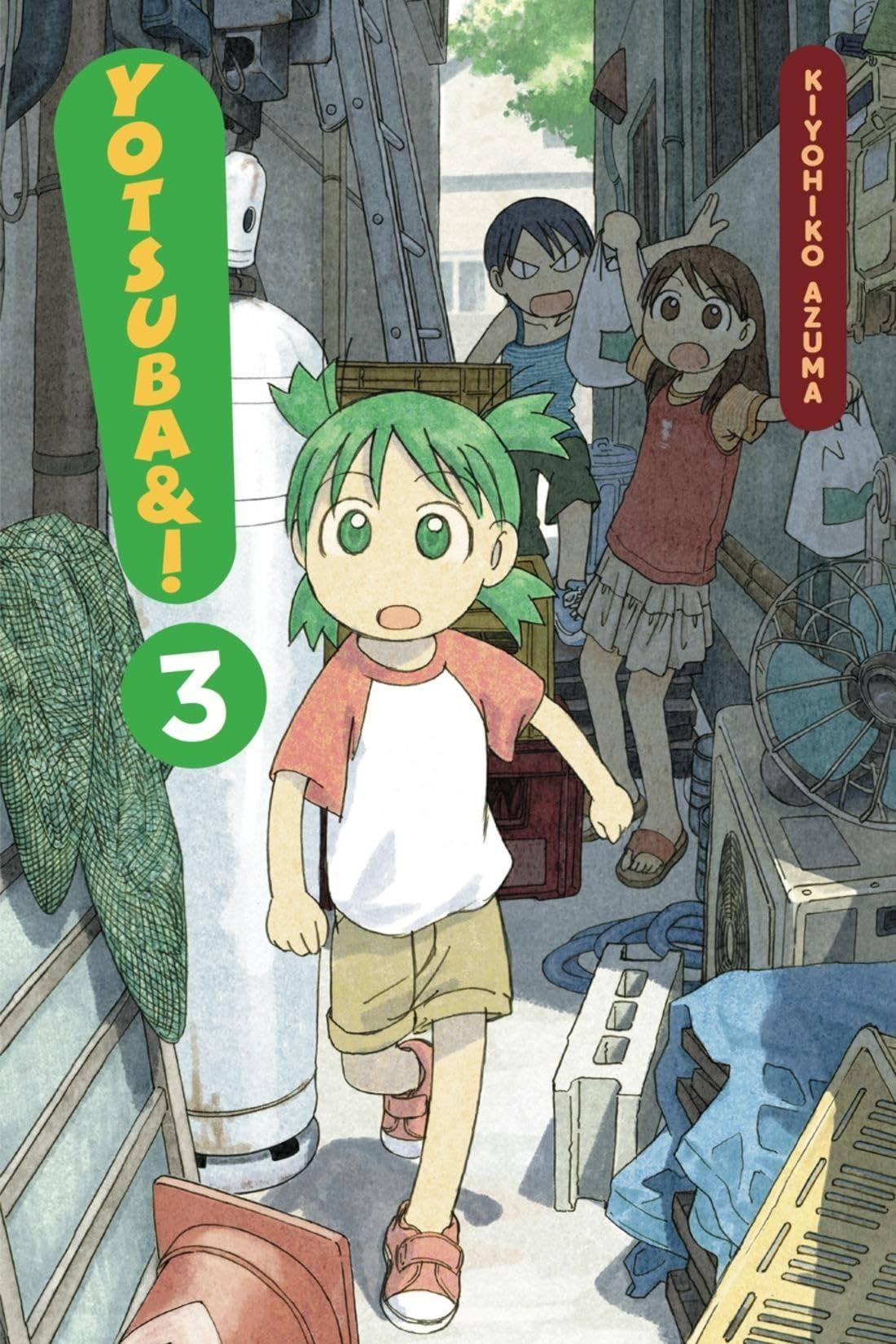Yotsuba&! Vol. 3