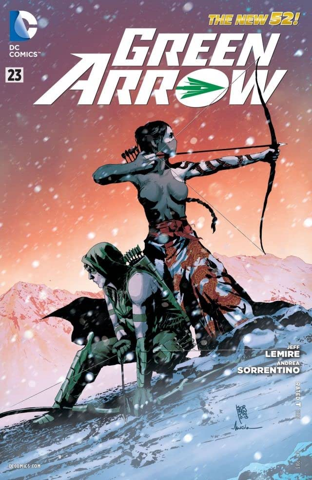 Green Arrow (2011-) #23