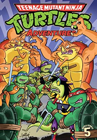 Teenage Mutant Ninja Turtles Adventures Tome 5