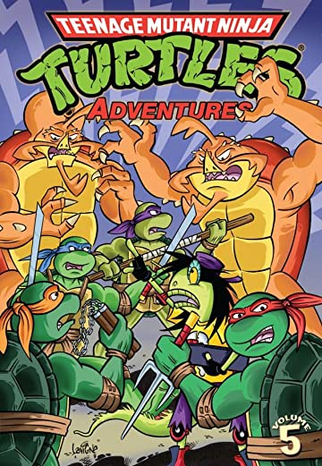 Teenage Mutant Ninja Turtles Adventures Vol. 5