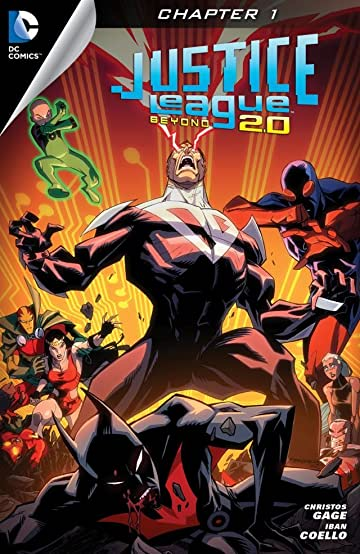 Justice League Beyond 2.0 (2013-2014) #1