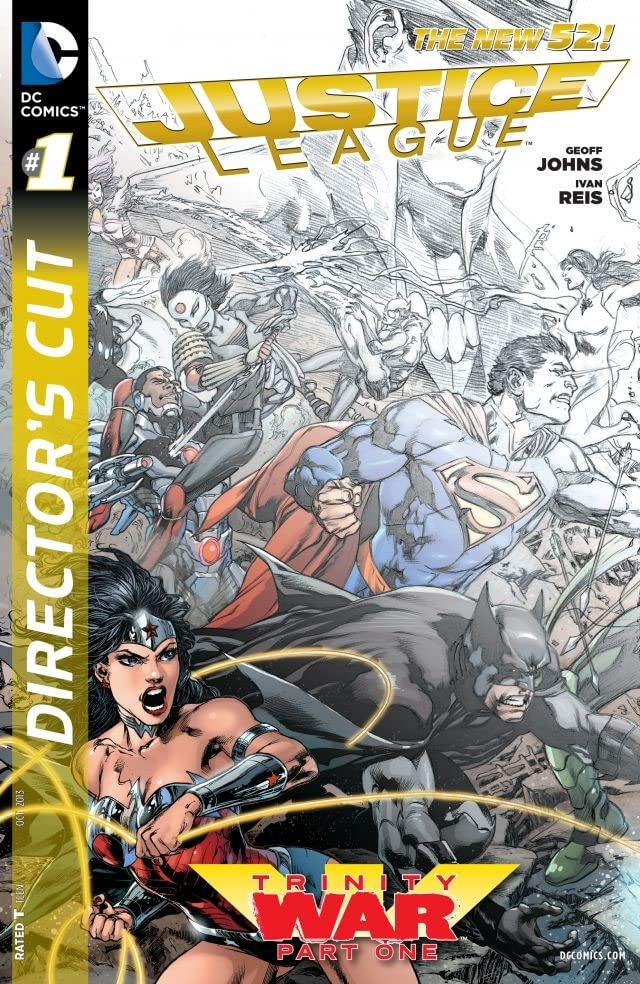 Justice League: Trinity War Director's Cut #1