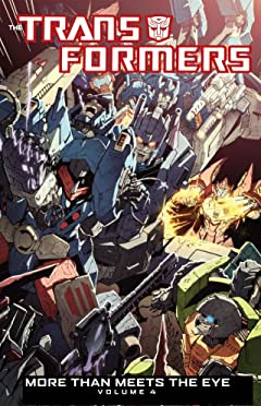 Transformers: More Than Meets the Eye (2011-2016) Tome 4