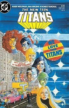 The New Teen Titans (1984-1996) No.6