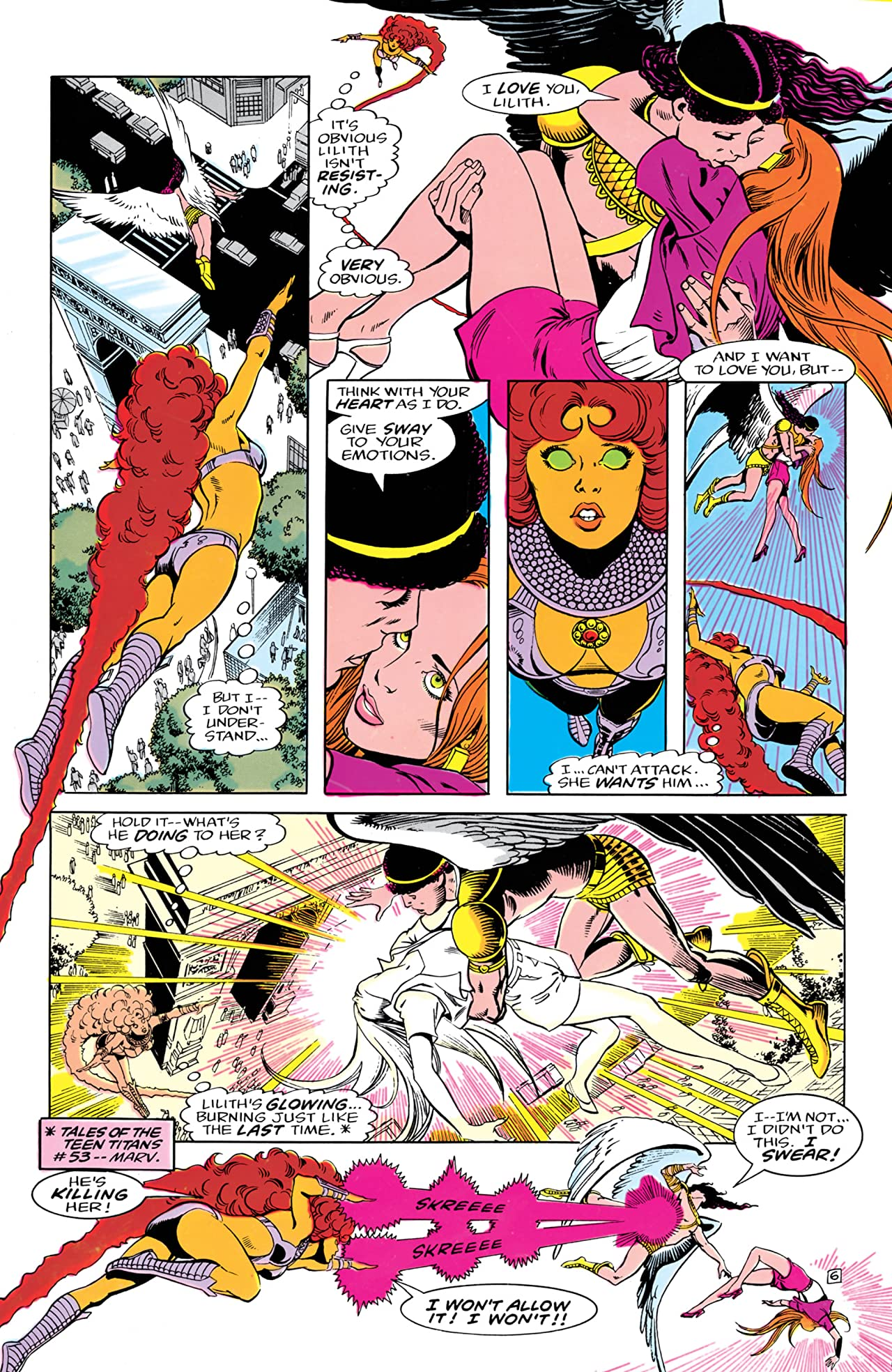 The New Teen Titans (1984-1996) #7