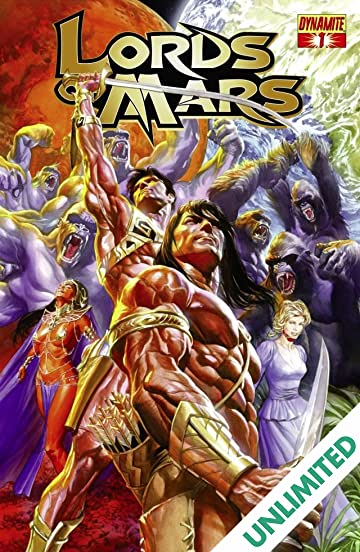 Lords of Mars #1 (of 6): Digital Exclusive Edition