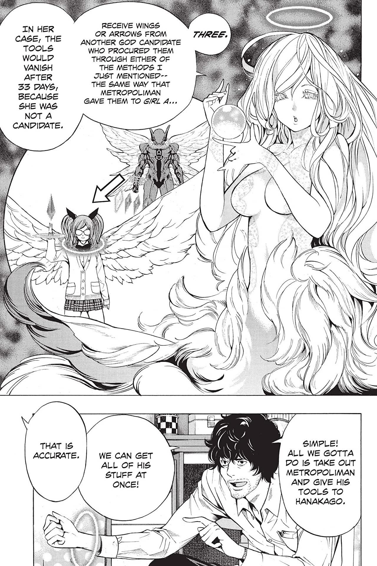 Platinum End: Chapter 13