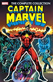 Captain Marvel by Jim Starlin: The Complete Collection