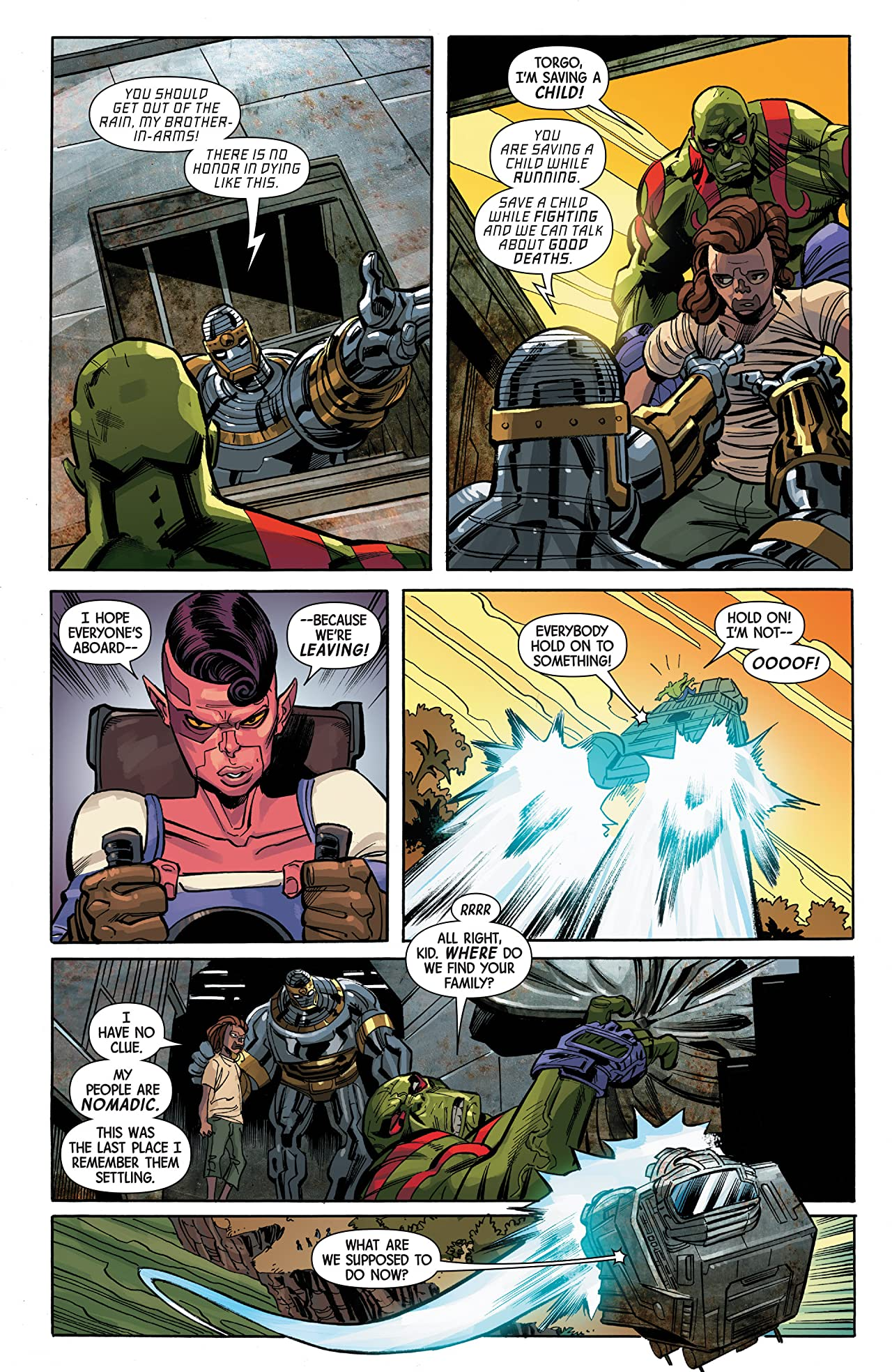 Drax Vol. 2: The Children's Crusade