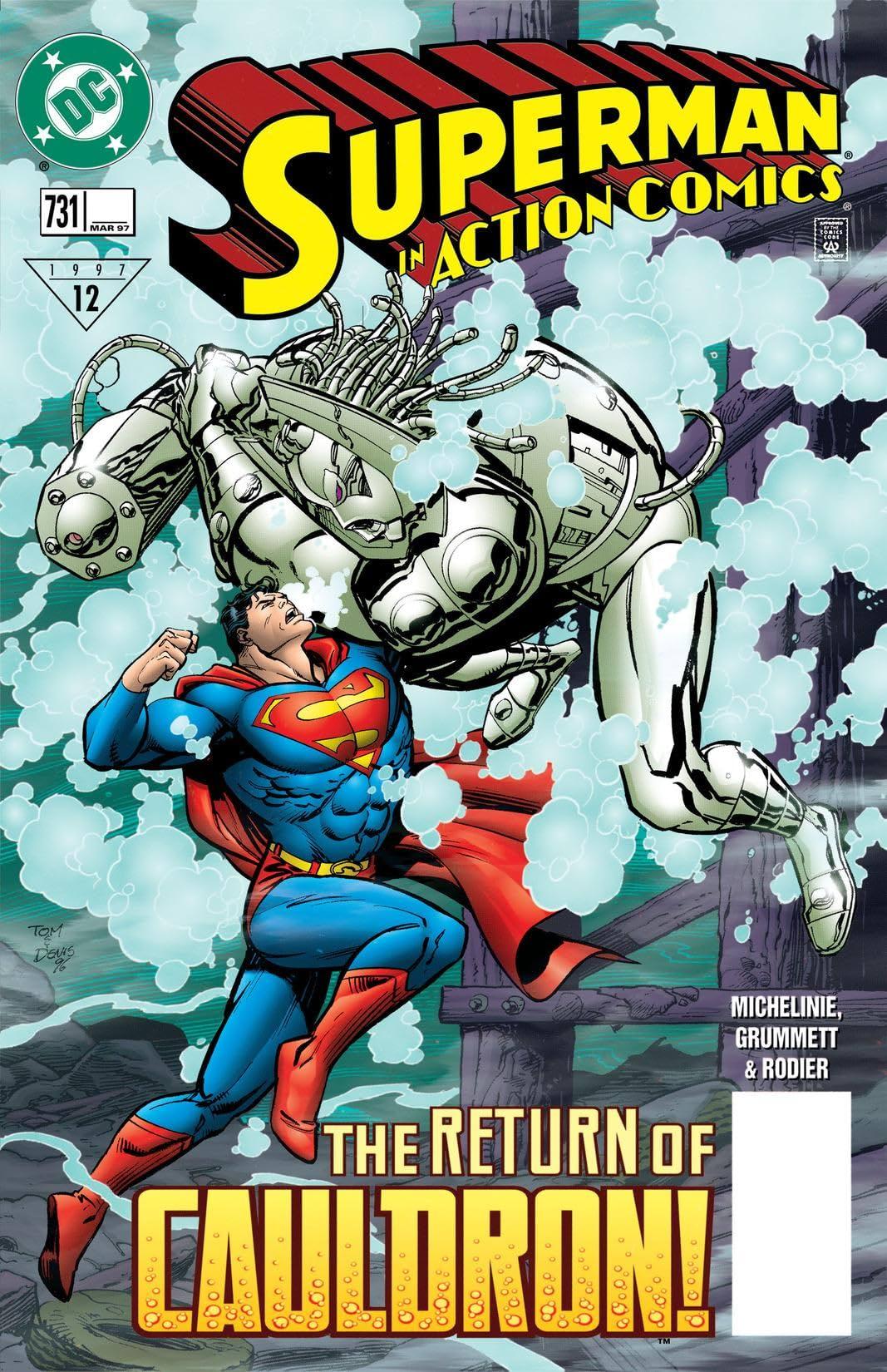 Action Comics (1938-2011) #731