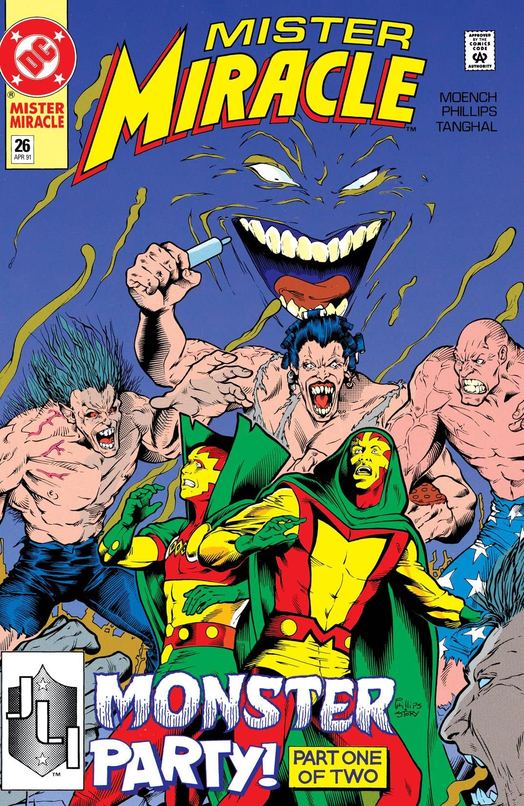 Mister Miracle (1989-1991) #26