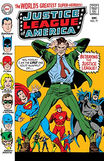 Justice League of America (1960-1987) #77