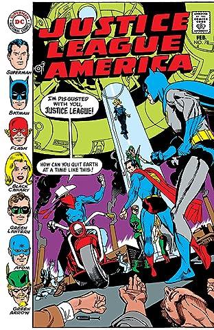 Justice League of America (1960-1987) #78