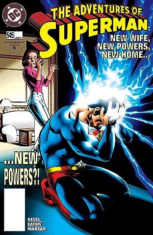 Adventures of Superman (1986-2006) #545