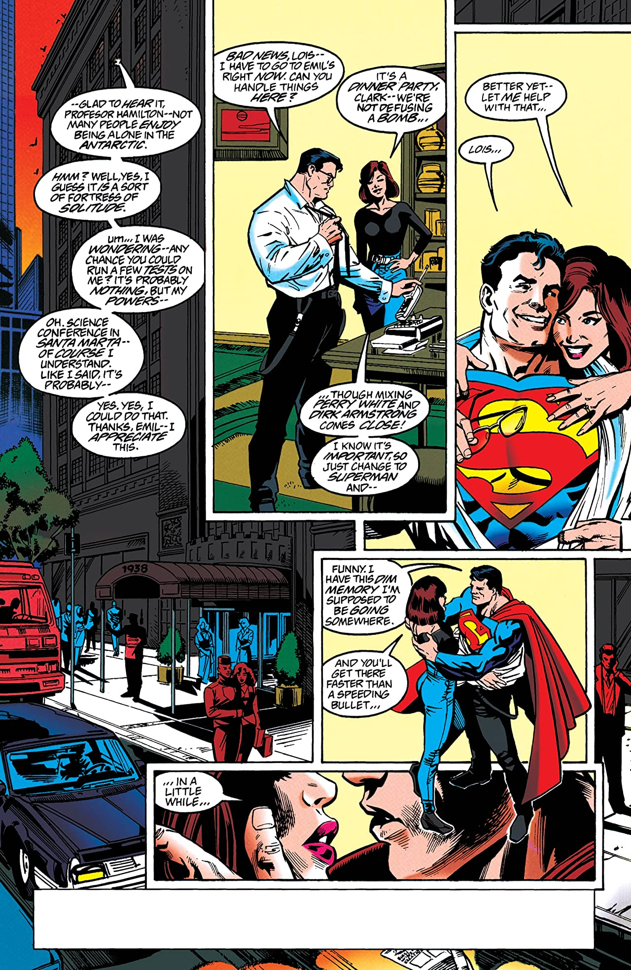 Adventures of Superman (1986-2006) #545