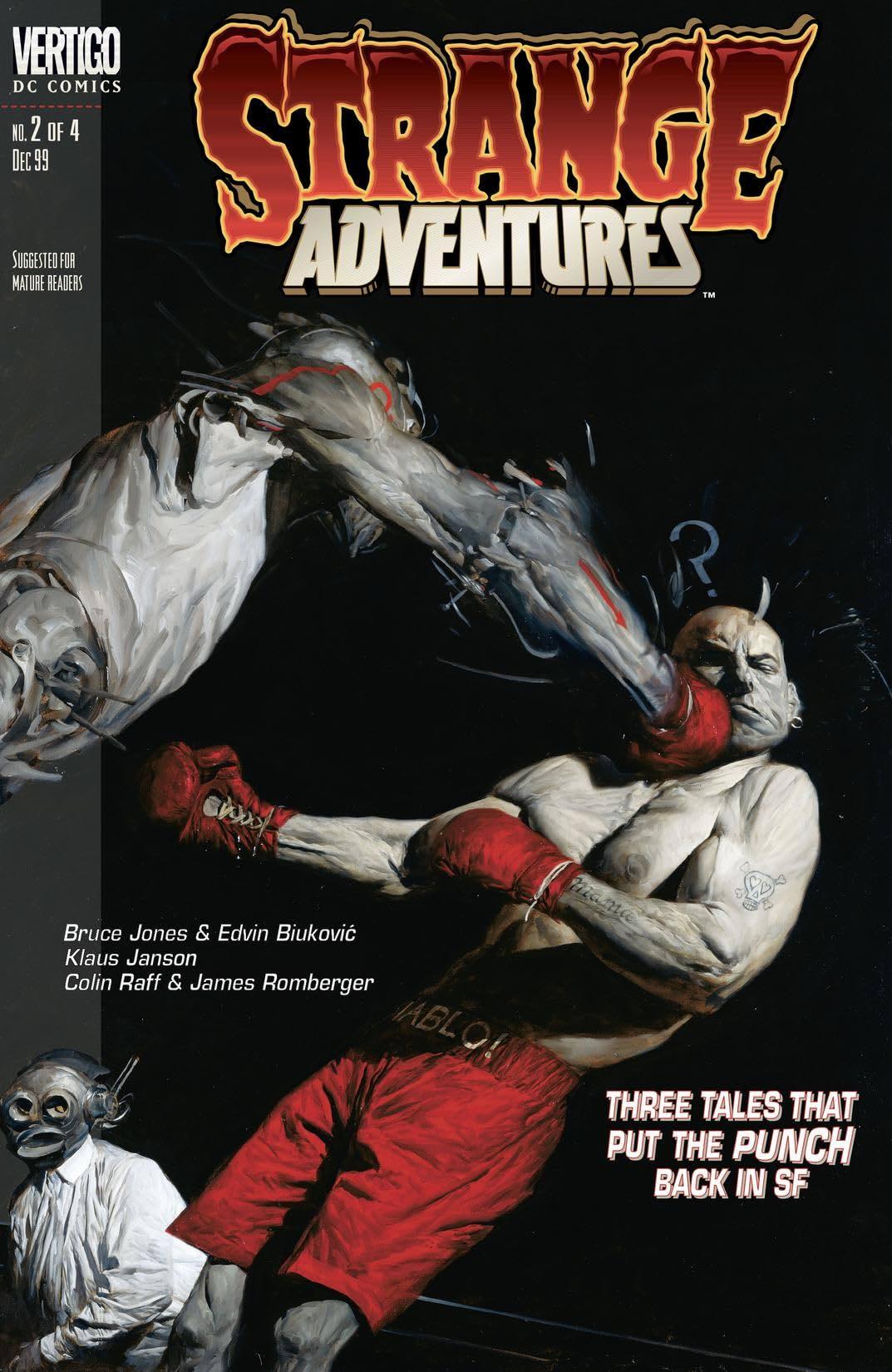 Strange Adventures (1999-2000) #2
