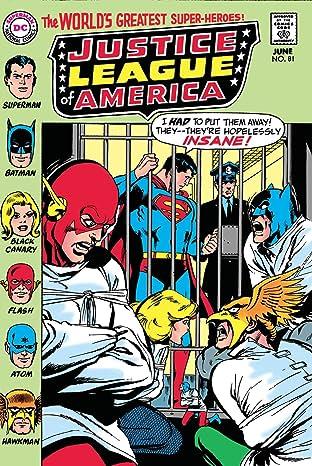 Justice League of America (1960-1987) #81