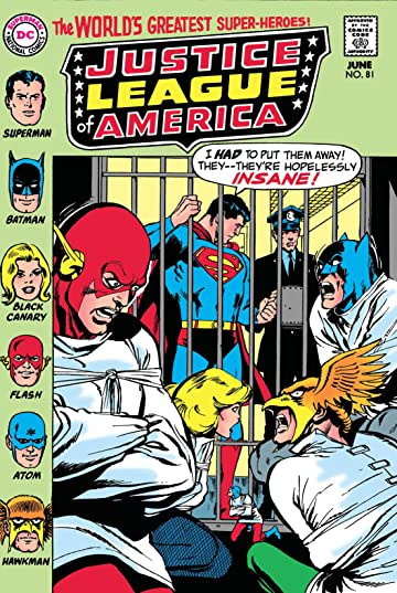 Justice League of America (1960-1987) #81
