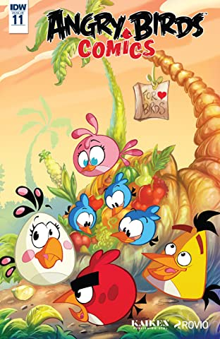 Angry Birds Comics (2016-) #11