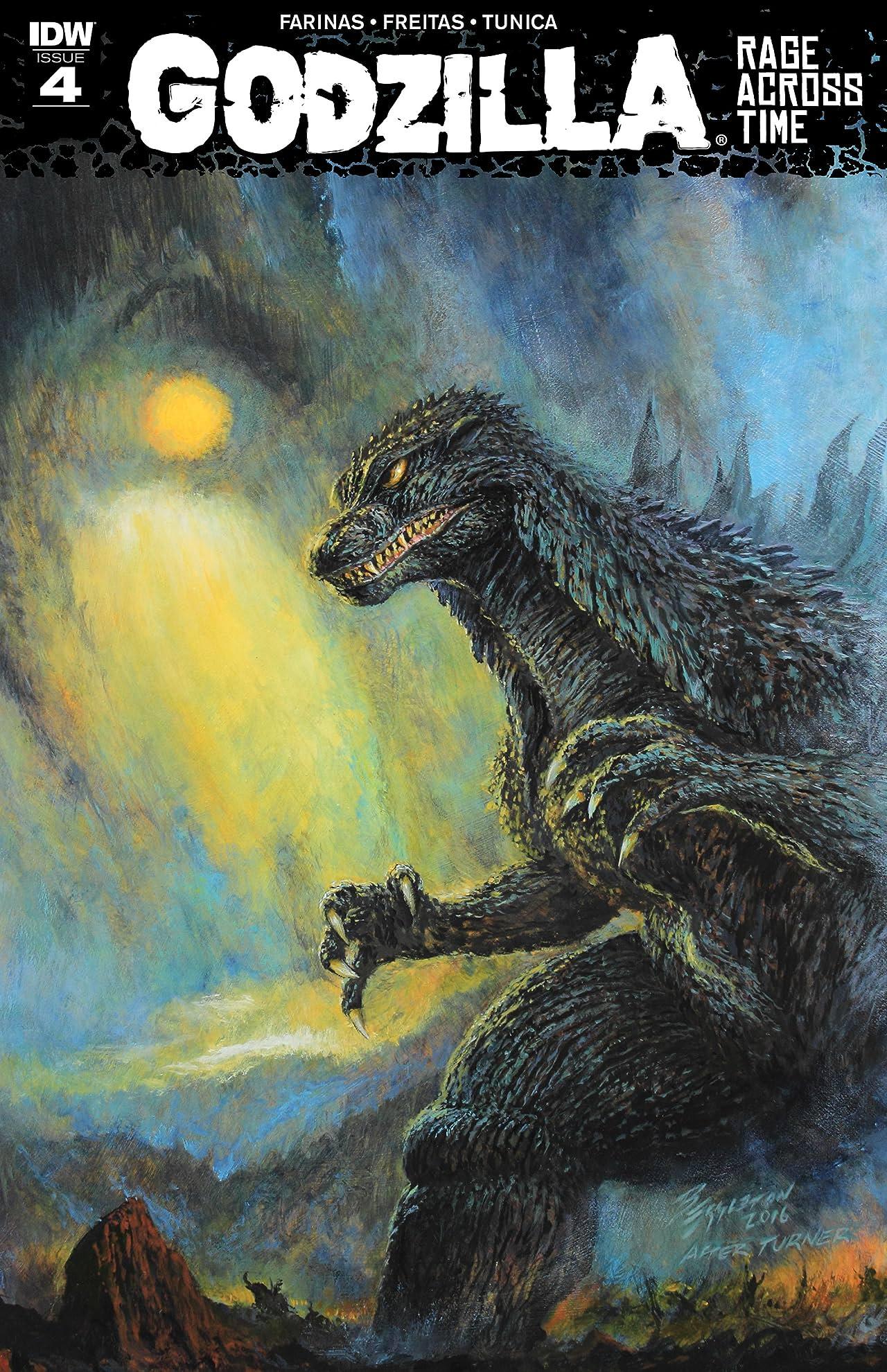 Godzilla: Rage Across Time #4 (of 5)