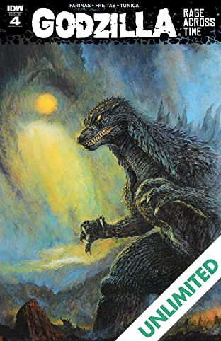 Godzilla: Rage Across Time #4 (of 5)