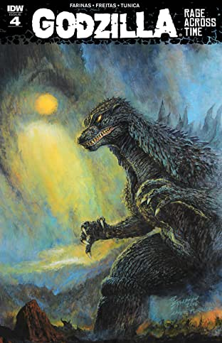 Godzilla: Rage Across Time No.4 (sur 5)