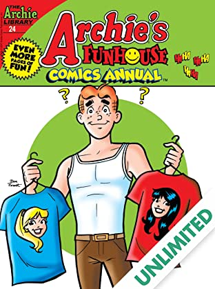 Archie's Funhouse Comics Double Digest #24