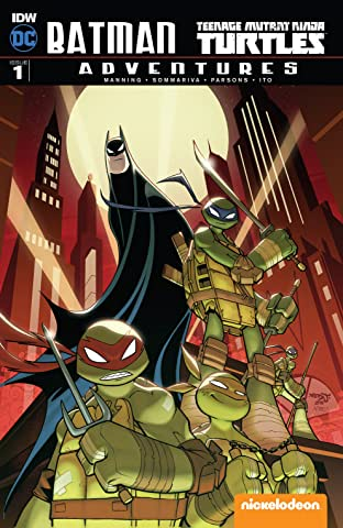 Batman/Teenage Mutant Ninja Turtles Adventures #1 (of 6)