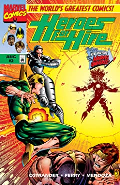 Heroes For Hire (1997-1999) No.2