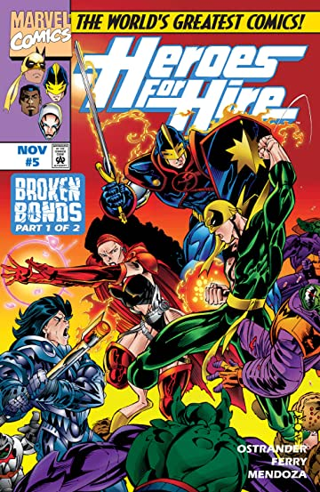 Heroes For Hire (1997-1999) #5