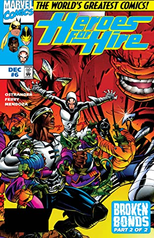 Heroes For Hire (1997-1999) No.6