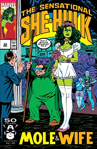 Sensational She-Hulk (1989-1994) #33