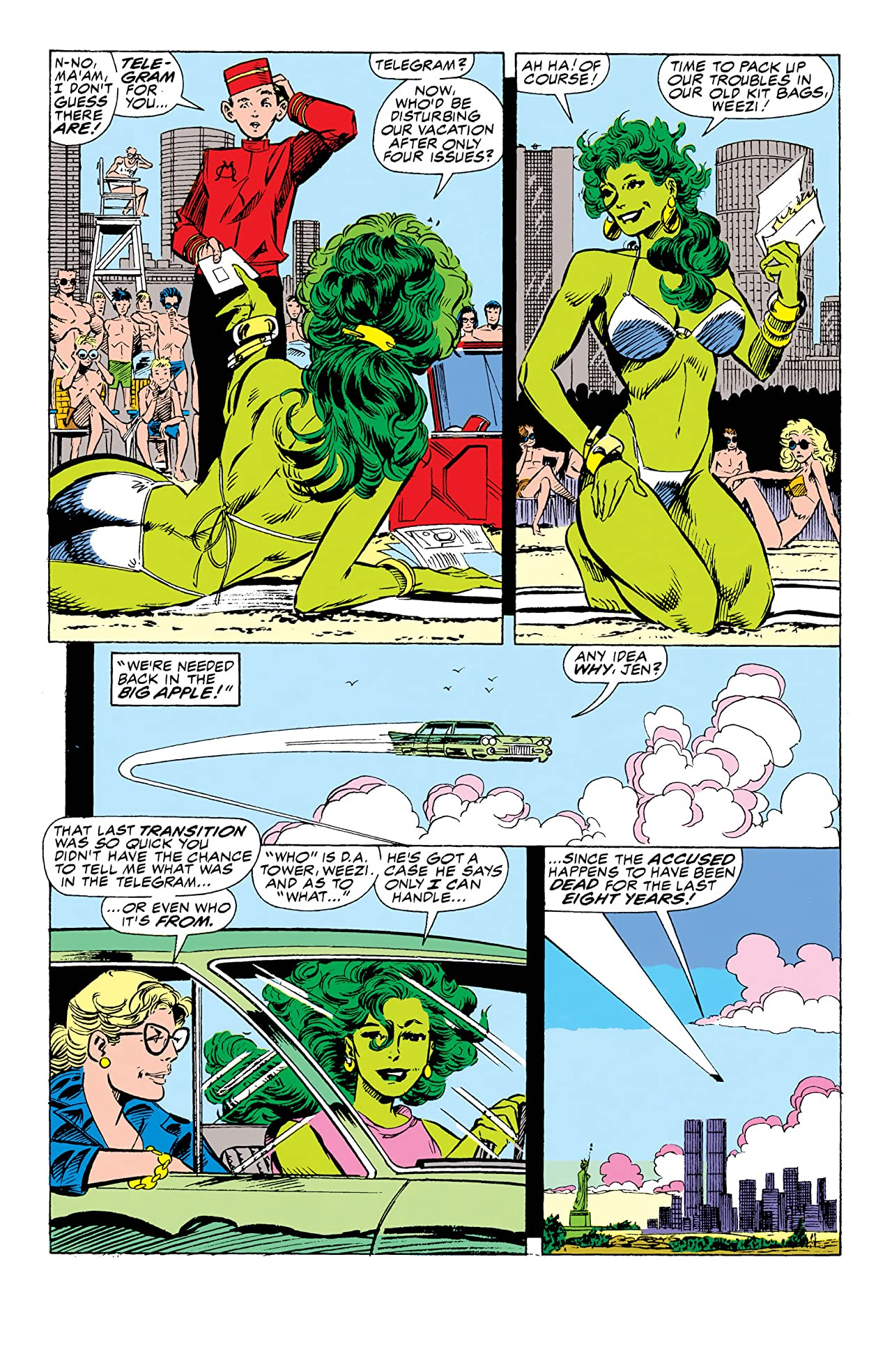 Sensational She-Hulk (1989-1994) #34