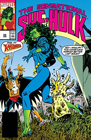 Sensational She-Hulk (1989-1994) #35