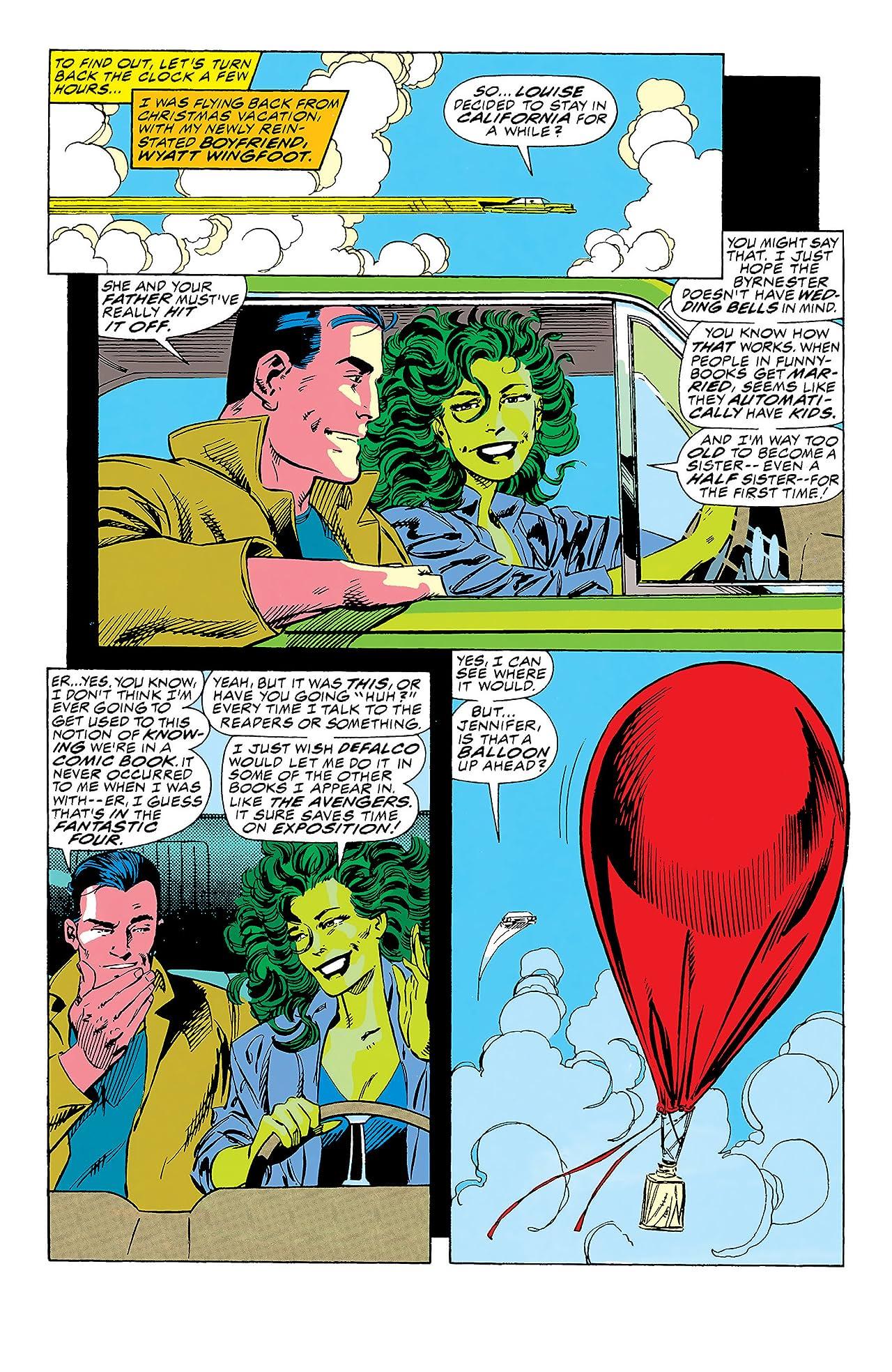Sensational She-Hulk (1989-1994) #37