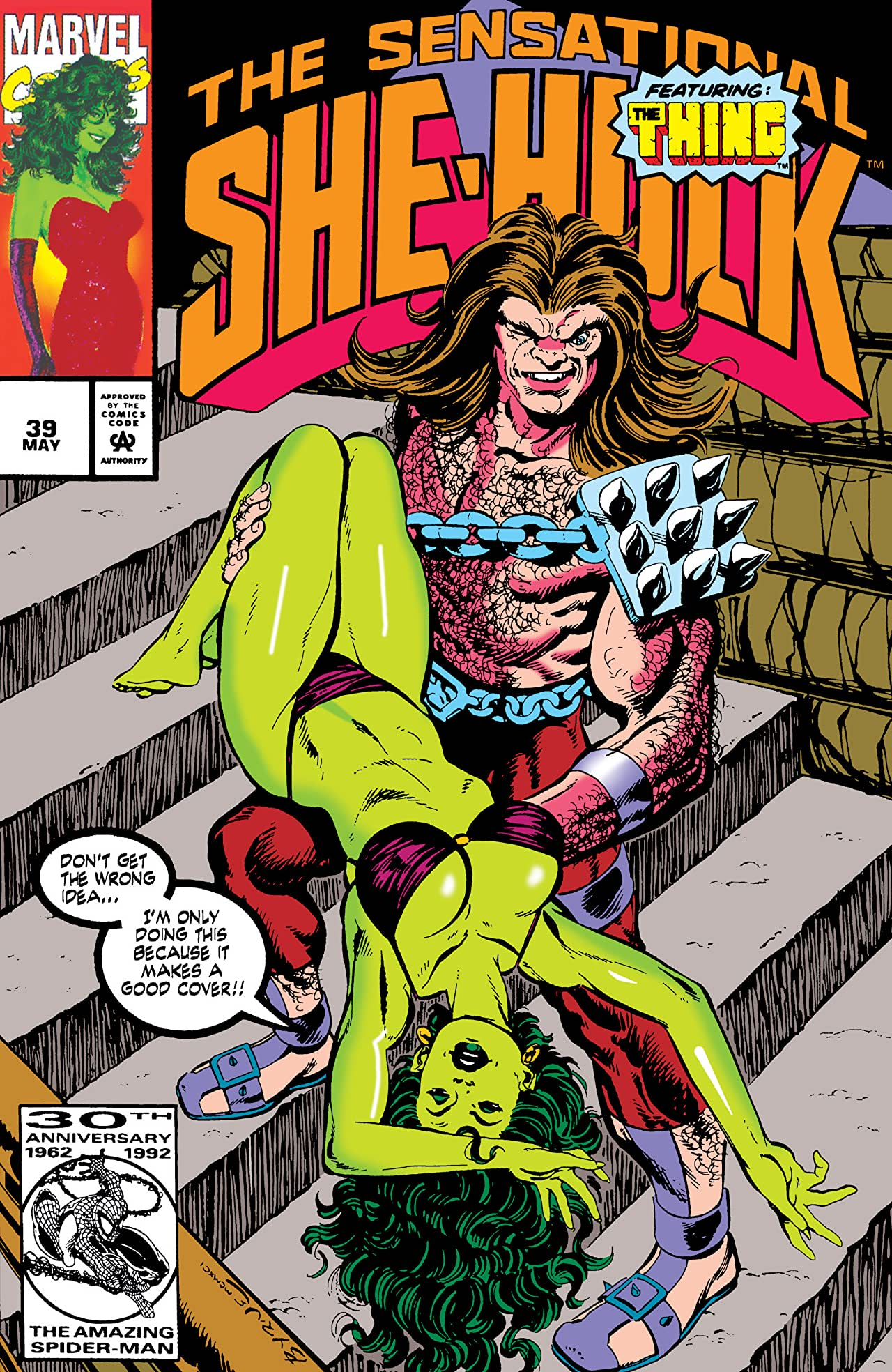 Sensational She-Hulk (1989-1994) #39