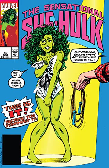 Sensational She-Hulk (1989-1994) #40