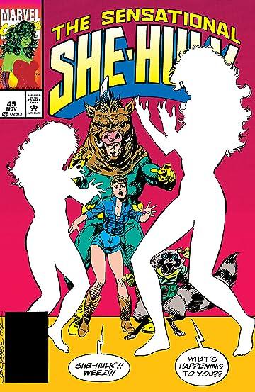 Sensational She-Hulk (1989-1994) #45