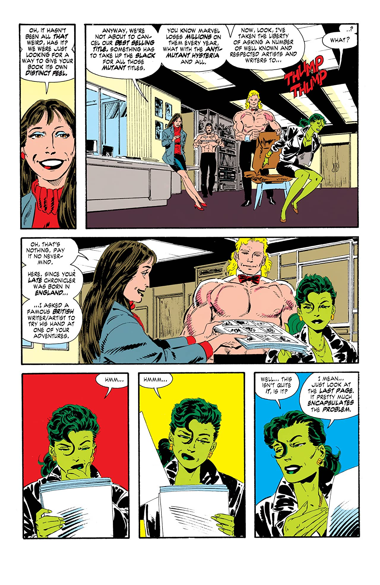 Sensational She-Hulk (1989-1994) #50