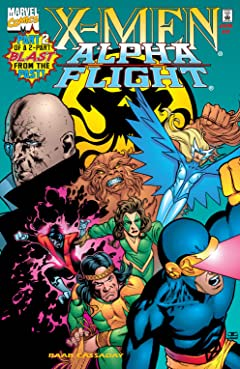 X-Men/Alpha Flight (1998) #2 (of 2)