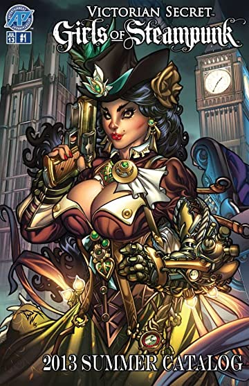 Victorian Secret: Girls of Steampunk: 2013 Summer Catalog