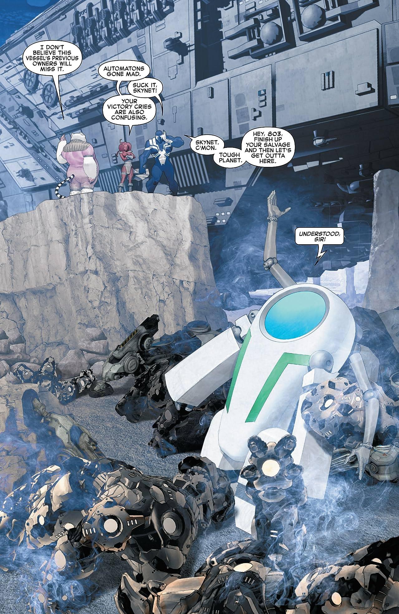 Venom: Space Knight Vol. 2: Enemies and Allies