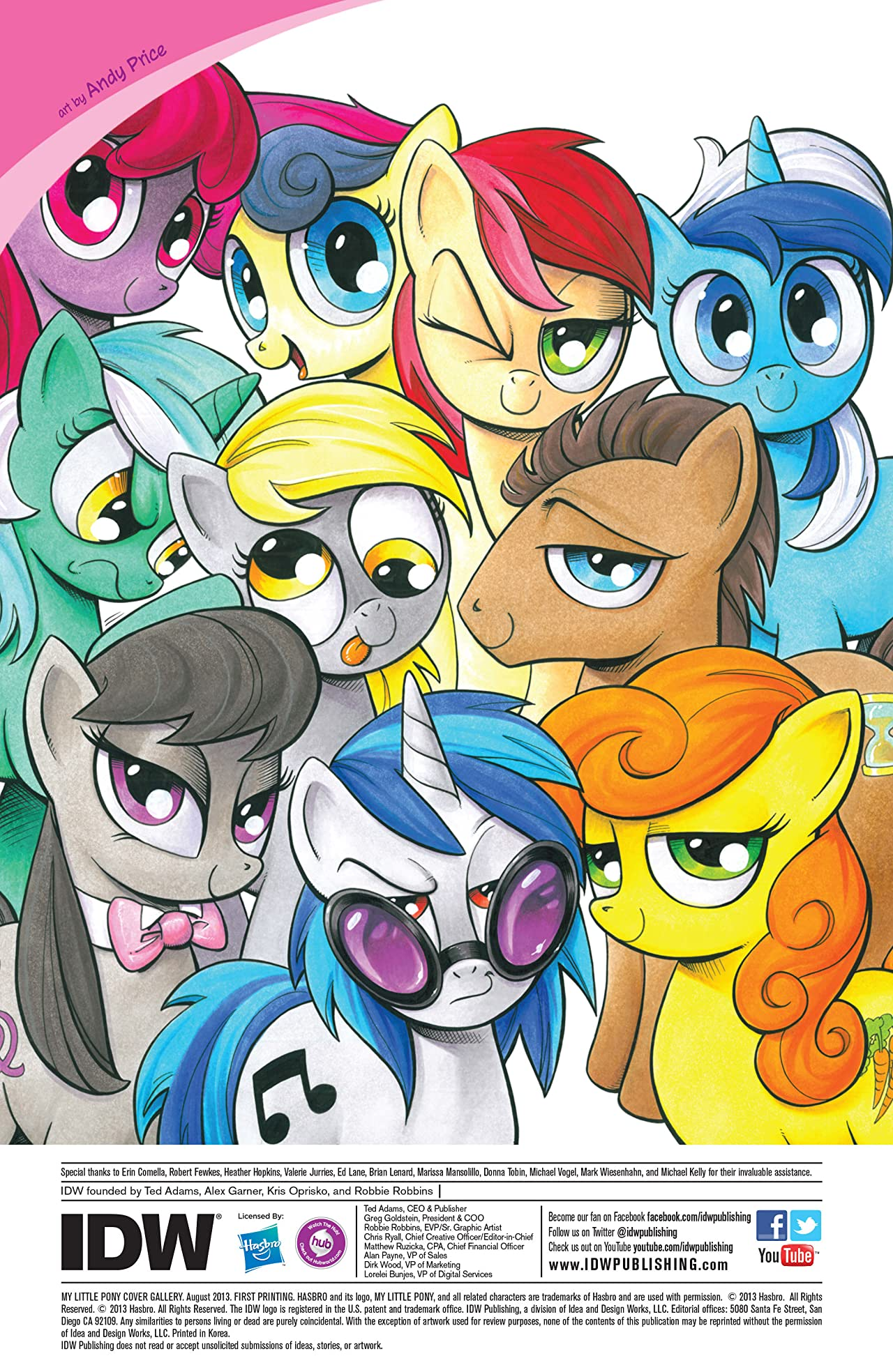 My Little Pony Cover Gallery #1