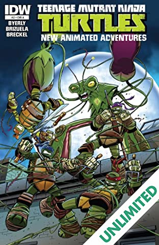 Teenage Mutant Ninja Turtles: New Animated Adventures #2