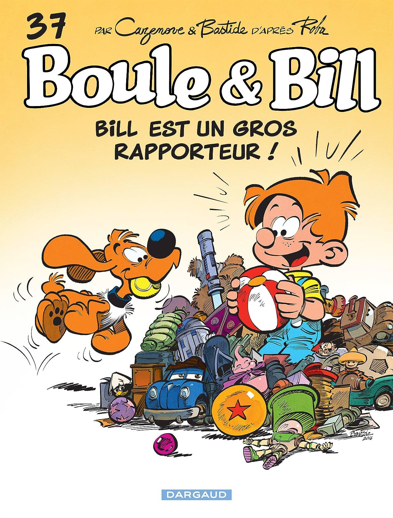 Boule & Bill Vol. 37: Bill est un gros rapporteur !