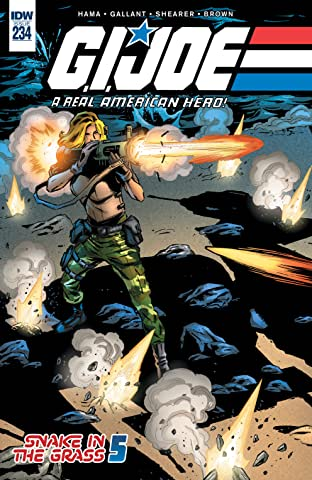 G.I. Joe: A Real American Hero No.234