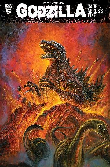 Godzilla: Rage Across Time #5 (of 5)