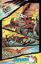 Godzilla: Rage Across Time #5 (of 5)