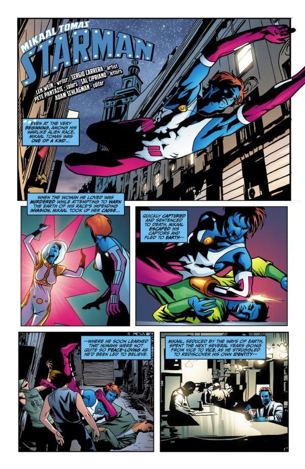 The Origin of Starman #1