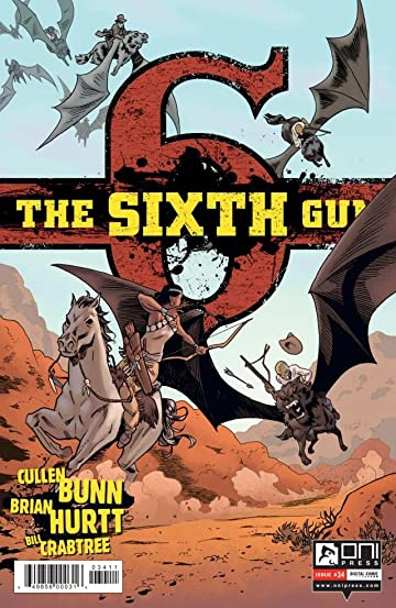 The Sixth Gun #34